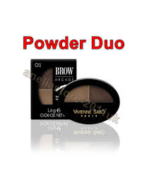 <b>VIVIENNE SABO</b> BROW ARCADE Powder Duo 01 Blonde 2* New ...