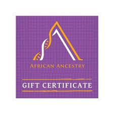 Digital Gift Card – African Ancestry
