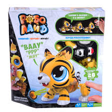 Купить игрушку <b>1TOY</b> РобоЛайф Тигренок интерактивный ...