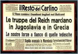 Risultati immagini per guerra dell'Italia alla Jugoslavia 1941