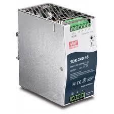 Trendnet TI-S24048 <b>48V 240W</b> Single Output Industrial <b>DIN</b>-<b>Rail</b> ...