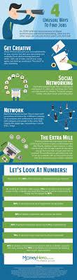 infographic unusual ways to job hk ig 5unusualwaystofindjobs en