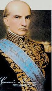 "Gabriel Garcia Moreno, President of Ecuador (1861-1865, 1869-1875) ""Every morning when saying my prayers I will ask especially for humility. - A_022br_GarciaMoreno1"