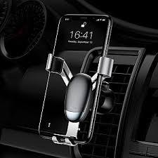 Автомобильный <b>держатель Baseus Mini</b> gravity holder Black ...