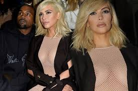 Image result for kim kardashian mesh dress