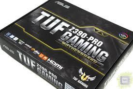 Обзор <b>материнской платы ASUS TUF</b> Z390-Pro Gaming