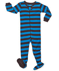 com leveret footed striped baby boy pajama sleeper  com leveret footed striped baby boy pajama sleeper 100% cotton size 6m 5t clothing