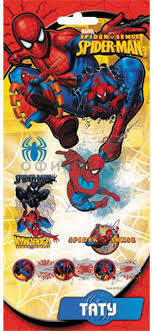 "<b>Наклейки 3D ACTION</b> ""<b>Spiderman</b>"", 17,5х9 см"