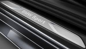 <b>Накладки на пороги</b> BMW <b>Sport</b> Line