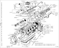 ford truck technical drawings and schematics   section e   engine    cylinder block  amp  related  s    cylinder m d  h d               fe    typical
