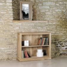 baumhaus mobel oak low bookcase baumhaus mobel oak 2