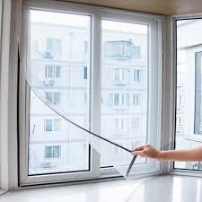 150 X 130 CM Home <b>Insect Mosquito Self Adhesive Window</b> Mesh ...