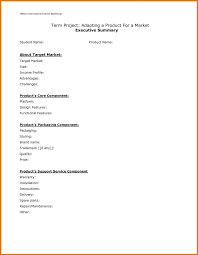 writing an executive summary for a report sample executive summary executive summary template