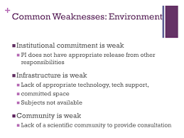 grantsmanship the review process scoringsecond in a two part common weaknesses environment full size