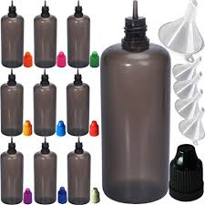 HUIZHU Plastic Smoke <b>Oil</b> bottle Steel Needle Dropper Bottles ...