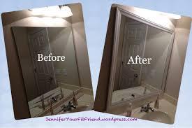 photos bathroom mirror frame
