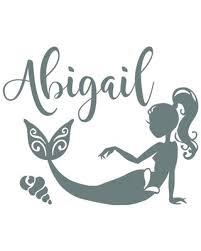 Amazing Deal on <b>Mermaid</b> Nursery Bedroom <b>Personalized Wall</b> ...