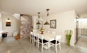 brick accent walls dining room view in gallery exposed brick accent wall in dining room
