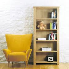 aston solid oak large open bookcase bookcase baumhaus space shape baumhaus aston oak hidden
