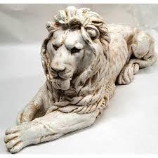 <b>Фигура садовая Лев</b> лежит 36x73 см смотрит вправо в Кемерове ...