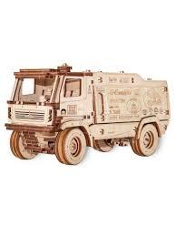 <b>Конструктор деревянный 3D</b> EWA МАЗ-5309RR 1:30 EWA (Eco ...