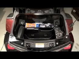 RT series Can-Am Spyder <b>Rear trunk organizer</b> - YouTube