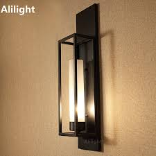 wall sconces bathroom lighting designs artworks: vintage wall light sconces black painting e e glass wall lamp for bedroom bathroom dining living