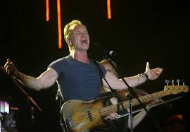 sting to perform at spac in times union