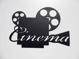 essay on cinema its use and abuse amazon com movie time words home theater decor metal wall art