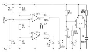 logic circuit page    digital circuits    next grlogic probe project