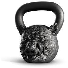 <b>Гиря</b> цельнолитая <b>Iron Head</b> Кабан 16 кг — купить по выгодной ...