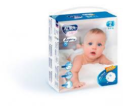<b>Aura Baby Подгузники mega</b>-<b>pack</b> р.2 S (3-6 кг) 70 шт ...