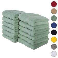 Green <b>100</b>% <b>Cotton</b> Hand Towels for sale | eBay
