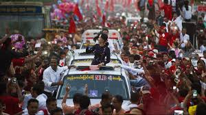 est100 一些攝影 some photos aung san suu kyi 昂山素季 翁山蘇姬 ye aung thu afp getty images aung san suu kyi profile activist eyeing power in burma the week uk