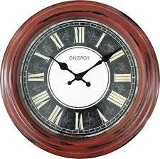 <b>Часы настенные Energy ЕС</b>-119, 54 009493, коричневый, черный