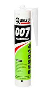 <b>Quelyd 007</b> / Килид <b>007 клей герметик</b> монтажный белый ...