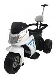 <b>Детский</b> электромотоцикл-<b>велосипед Feilong</b> HL-108 White <b>6V</b> ...