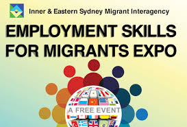 the employment skills for migrants expo junction neighbourhood centre there are lots of reasons to come to the annual employment skills for migrants expo in randwick you can chat to professionals from corporate