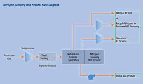 enhanced oil and gas recovery technologyin fields containing oil and gas  nitrogen injection maintains well pressure which allows for the immediate   of natural gas  natural gas liquids  ngl