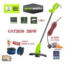 <b>Greenworks GST2830 280w</b> Grass String (end 6/7/2022 12:00 AM)