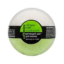 """Café mimi <b>Бурлящий шар для</b> ванны """"Авокадо и гуава"""" 120гр ..."""