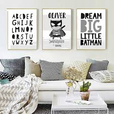 <b>Superhero Dream Big</b> Kids Room Decor Wall Art Poster Prints ...