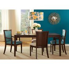 Teal Dining Room Chairs Dwell Dining Room Table Amp 4 Side Chairs Teal 802t3 Dining