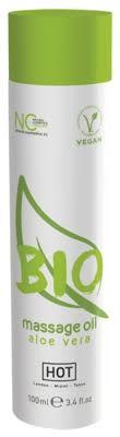 HOT <b>Массажное масло BIO</b> Massage Oil Aloe Vera 100 мл ...