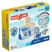 Магнитный <b>конструктор GEOMAG Magicube</b> 134-8 <b>Полярные</b> ...
