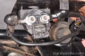 bayou 220 250 klf220 klf250 kawasaki service manual cyclepedia kawasaki klf220 250 bayou electrical systems