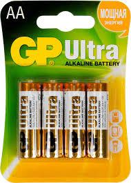 Купить AA <b>Батарейка GP Ultra</b> Alkaline 15AU LR6 в интернет ...