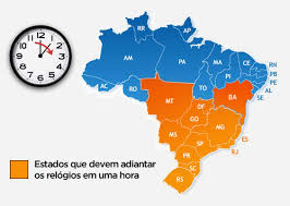 Resultado de imagem para HORARIO DE VERAO