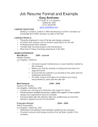 examples of a professional resume objective cipanewsletter resume objective examples barista