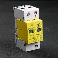 spd 10 20ka 2p 1p n 385v house surge protector low voltage arrester device 220v 380v protective electronic circuits
